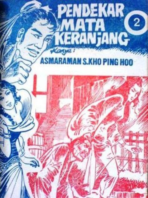 Pameran Kho Ping Hoo_Karya berjudul Pendekar Mata Keranjang