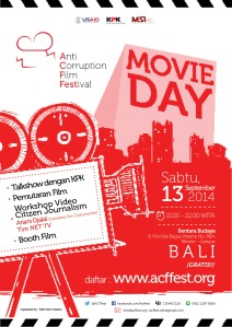 ACFFest_movie day_poster Bali