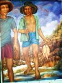 Ida Bagus Ketut Djiwartem, Mancing, menikmati berkah peradaban air 1